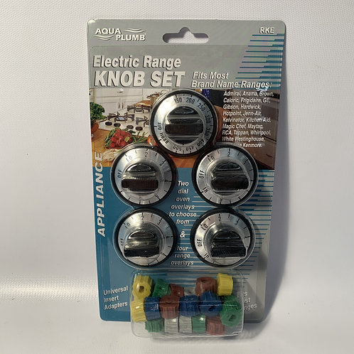 Electric Range Knob Set