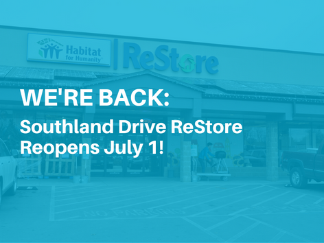 Southland Drive ReStore Reopens