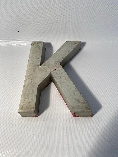 "Metal Letters 6"""