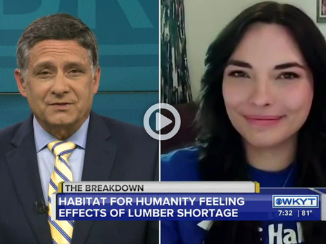 Sam Dick interviews Brandalin Foster with Habitat for Humanity | The Breakdown