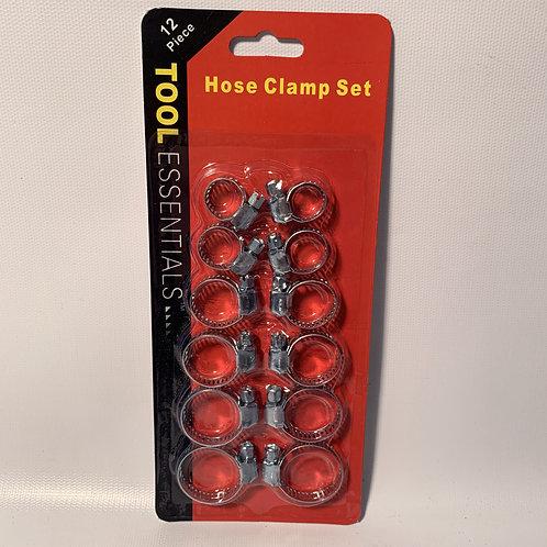 Hose Clamp Set - 12 piece