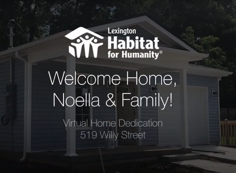 Welcome Home Noella & Family!
