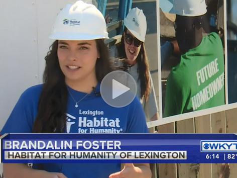 Lexington Habitat for Humanity Feeling Effects Of Lumber Shortage