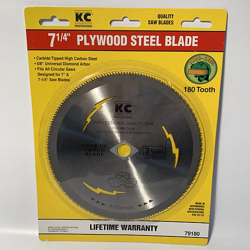 Plywood Steel Blade