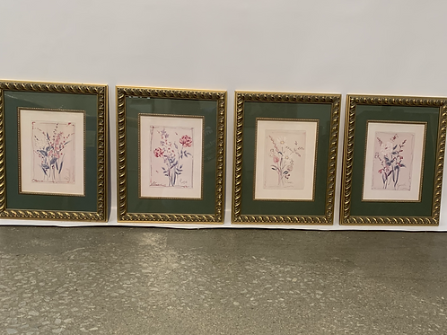 Framed Art - Set of 4