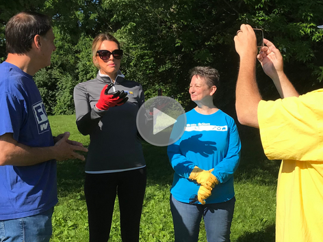 FOX 56 Celebrates Founder's Day of Caring With Lexington Habitat