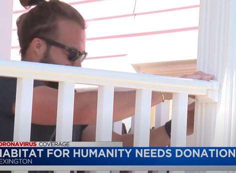 Lexington Habitat Needs Donations
