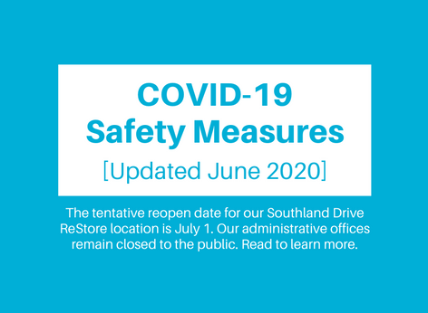 COVID-19 Safety Measures [Updated June 2020]