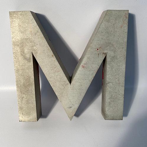 "Metal Letters 8"""