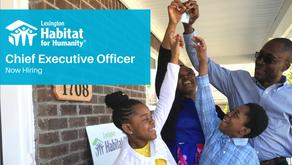 Lexington Habitat Now Hiring CEO