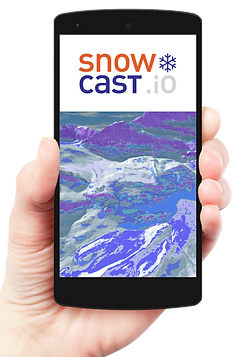 Mobile SnowCast dashboard