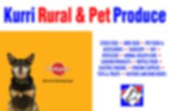 Kurri Rural Pet Produce NSW