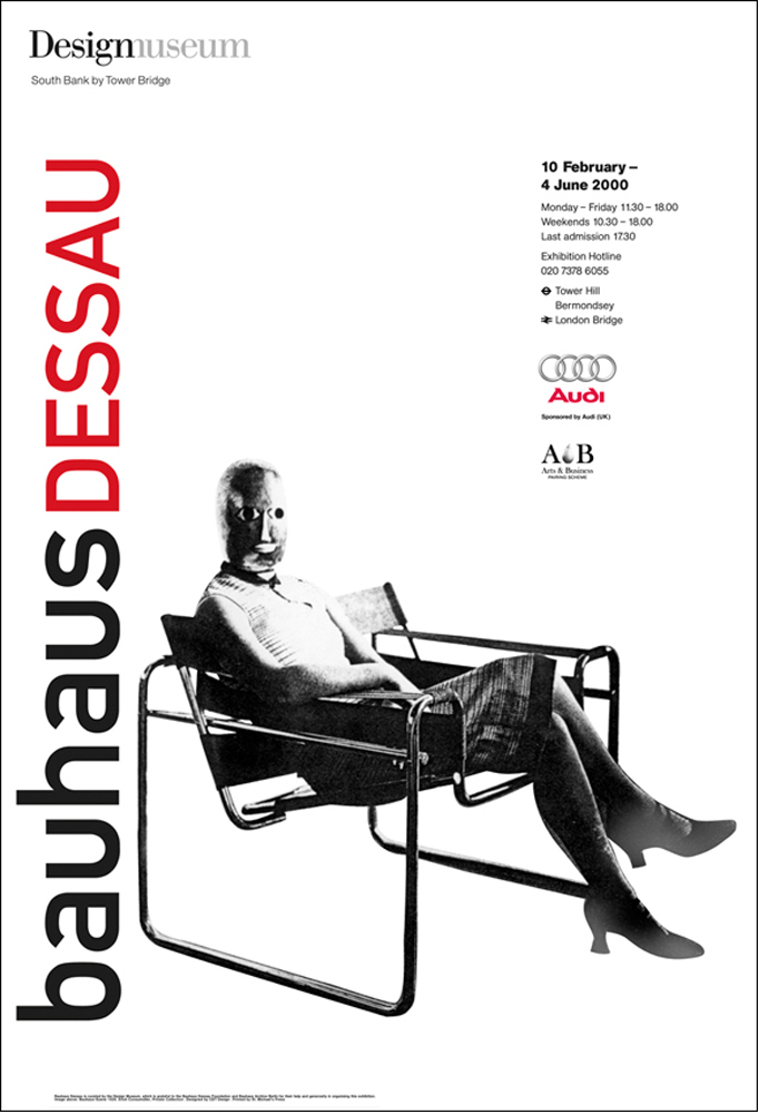 Design Museum Bauhaus Poster