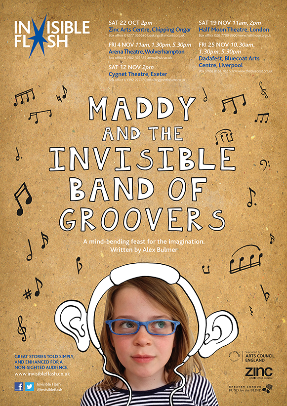 Invisible Flash Maddy Poster