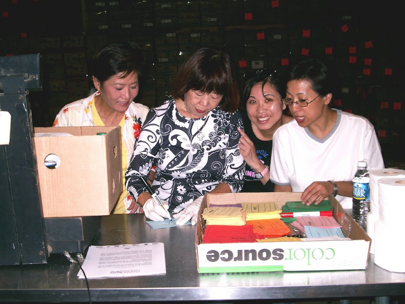 ACCA首次在Food Bank服務08/14/2004
