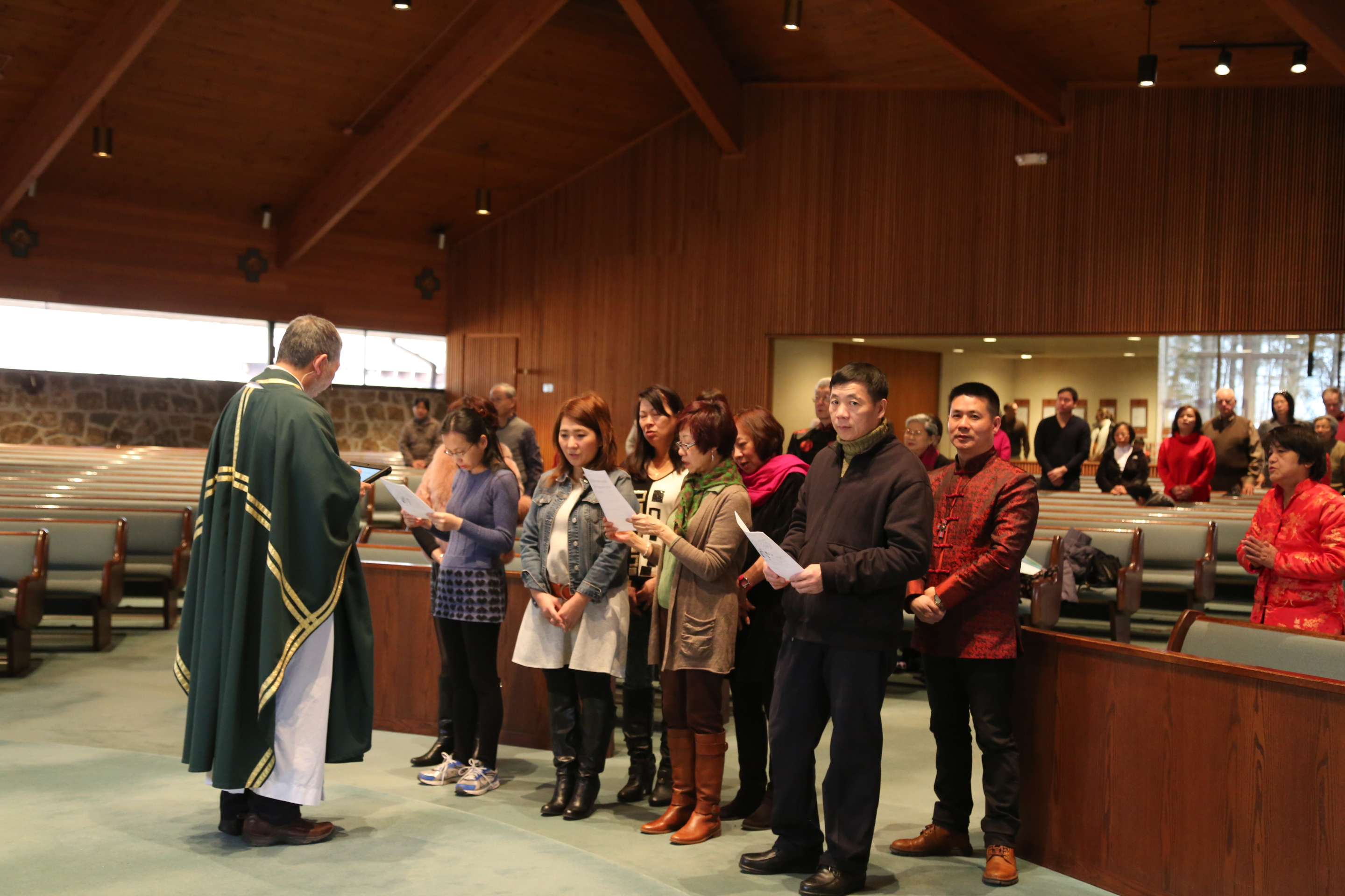 2015 from Catechumens to Baptism