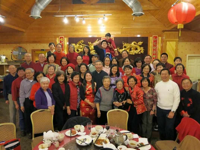 中國新年祭祖與聚餐 02/02/2014