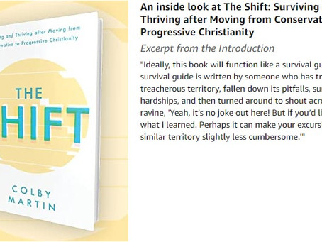 Special Book Review: The Shift by Colby Martin