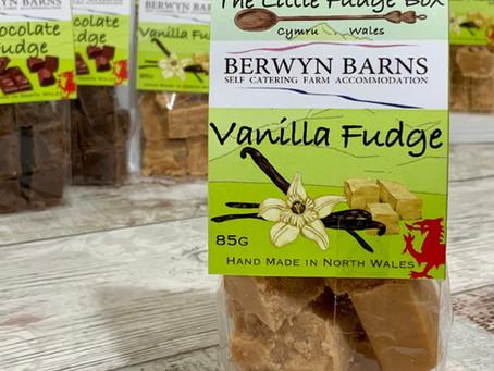 Berwyn Barns Welcome Fudge Gift Packs.