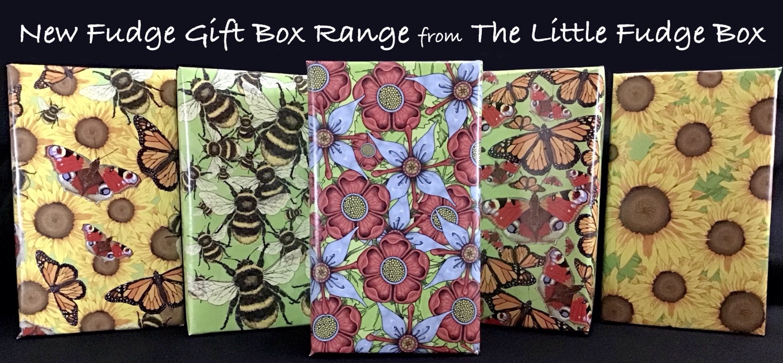 Fudge Gift Box Welsh Little Fudge Box Cyffug Cymraeg build a box present