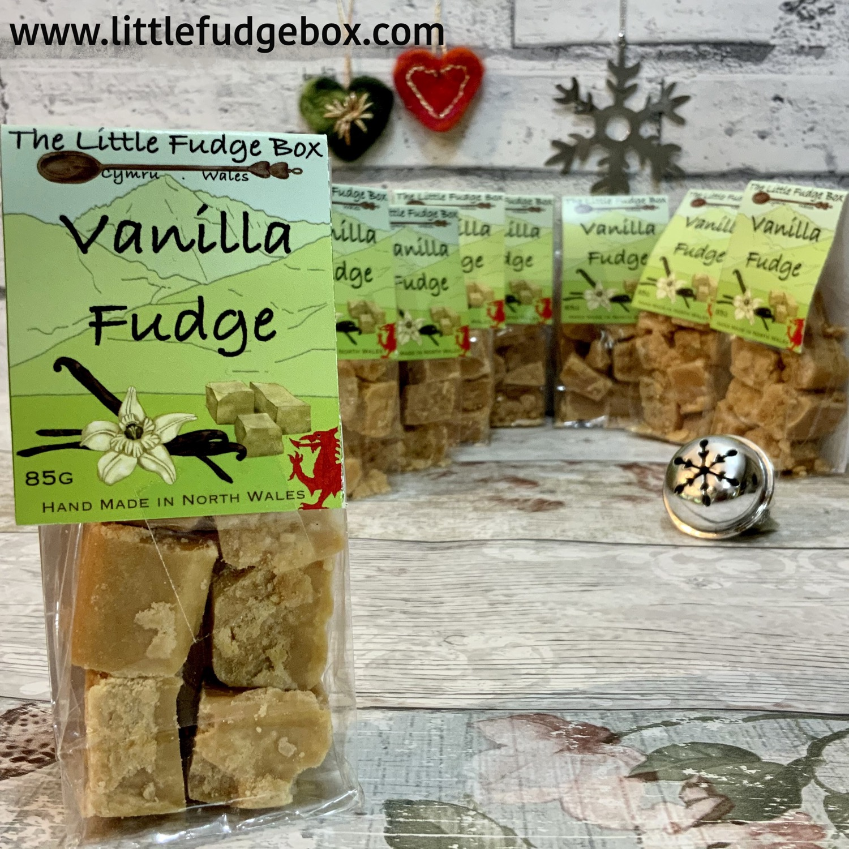 vanilla fudge little fudge box Wales wel