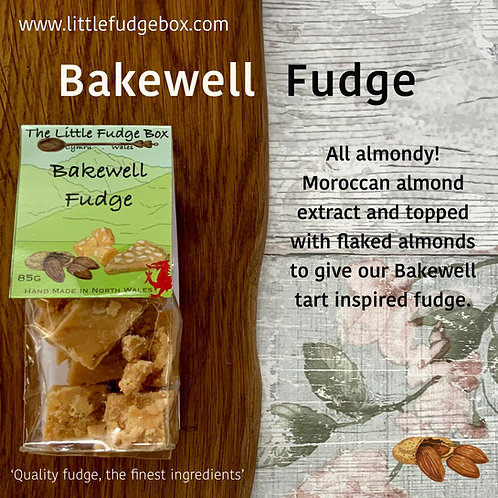 the little fudge box bakewell tart marzipan fudge sweet treat christmas stocking hamper filler idea birthday anniversary