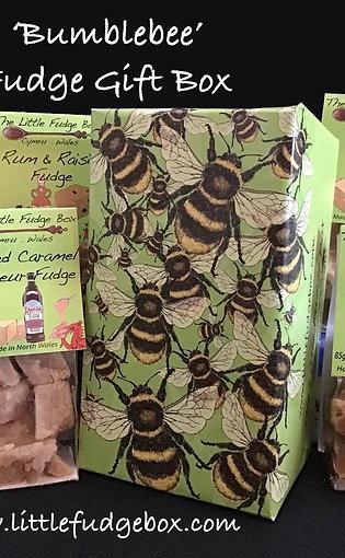 Fudge Gift Box 'Bumblebees' choose 5 bags of fudge, build a box!