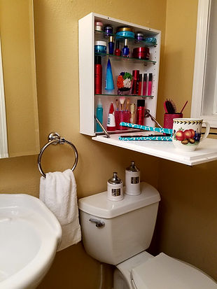 Flip Frame is the solution for small bathrooms