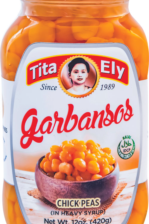 340g Tita Ely Garbanzos in Syrup