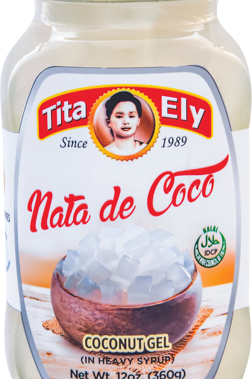 340g Tita Ely Nata De Coco White