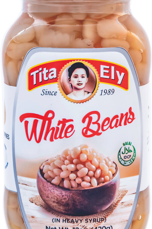 340g Tita Ely White Beans in Syrup