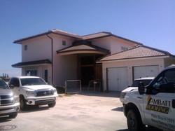 Barrel Tile Roof on Estate Home