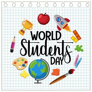 world-student-s-day-banner-free-vector.j