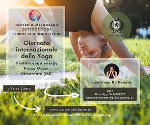 Giornata internazionale dello yoga 2021.
