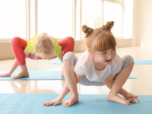 GiocaYoga®️: alla scoperta delle piccole magie dello yoga per bambini
