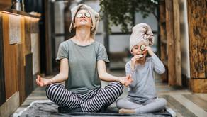 Yoga sostenibile nella quotidianità a casa