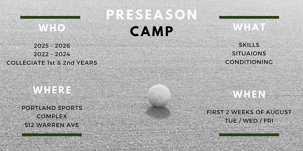 PRESEASON CAMP