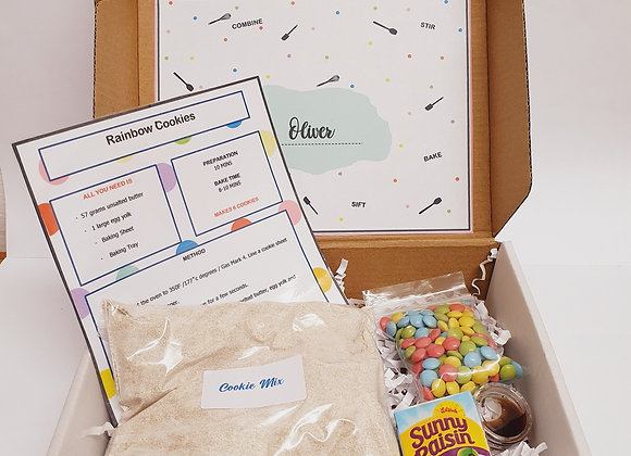 Rainbow Cookie Baking Kit