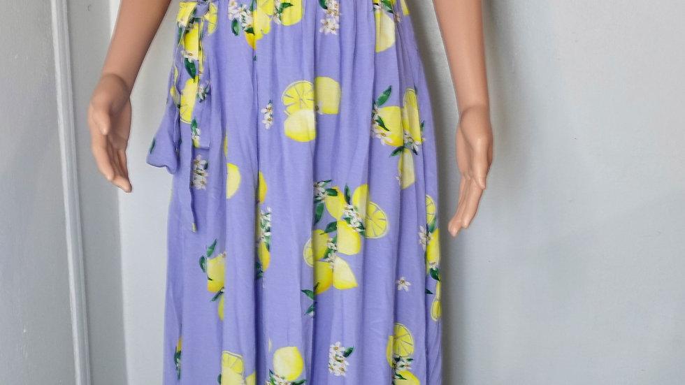 majorelle maxi dress