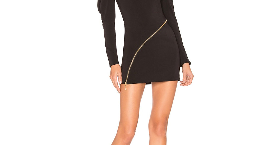 amadora dress in black