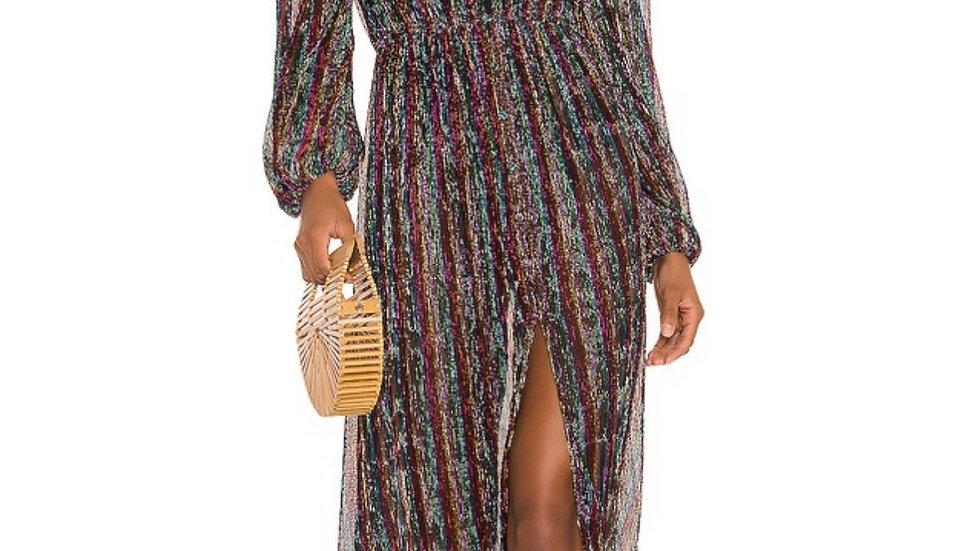 maribel maxi dress in multi