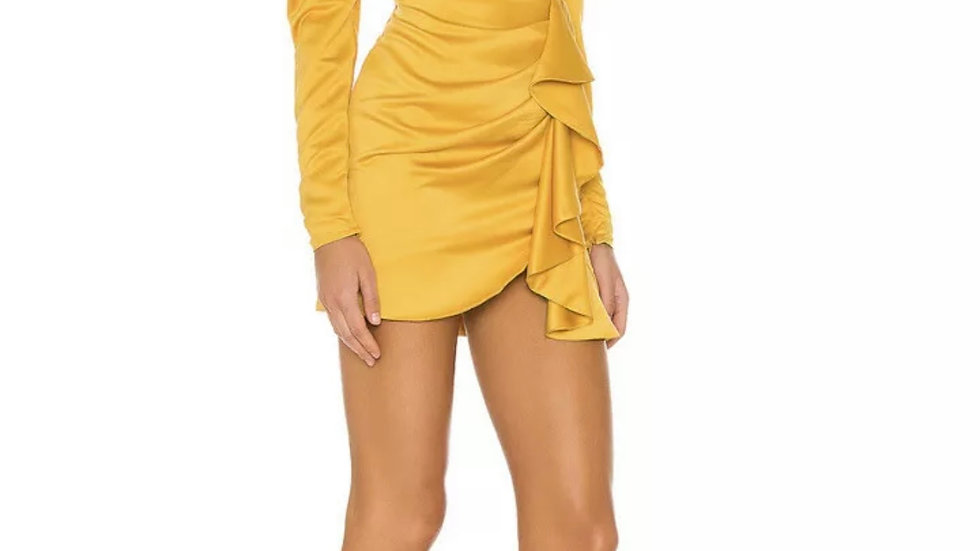 Michael Costello valeria mini dress