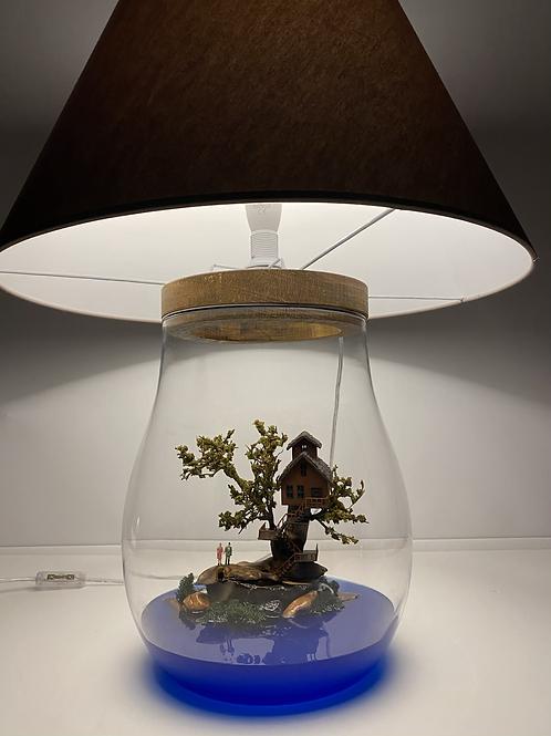 Ağaç Ev Abajur Teraryum