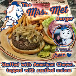 The Mrs. Met Burger