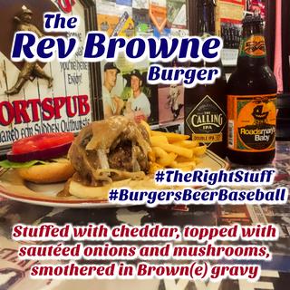 The Rev Browne Burger