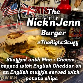 The Nick'n'Jenn Burger