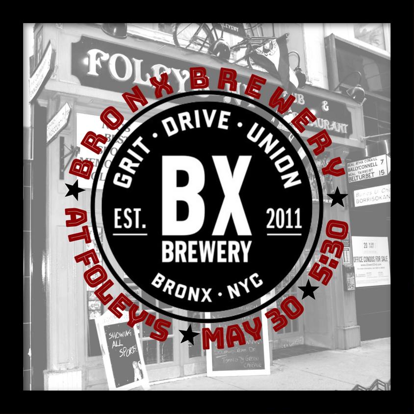 Bronx Brewery at Foley's