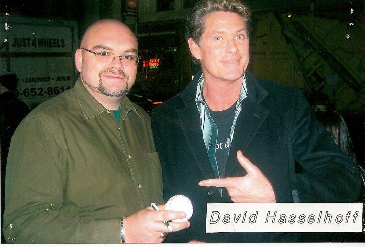 David Hasselfhoff at Foley's