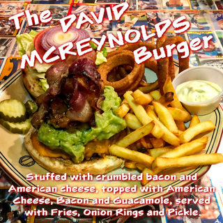 The David McReynolds Burger