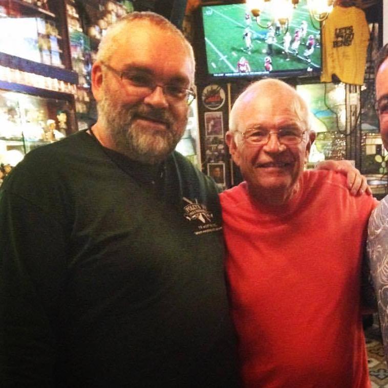 Shaun with Joe Castiglione